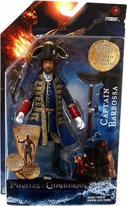Pirates of the Caribbean On Stranger Tides 6 Inch Series 1 Action Figure Captain Barbossa