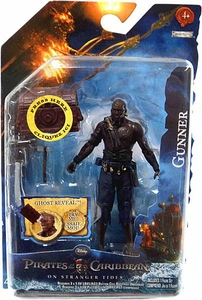 Pirates of the Caribbean On Stranger Tides 4 Inch Series 2 Action Figure Gunner from Qar