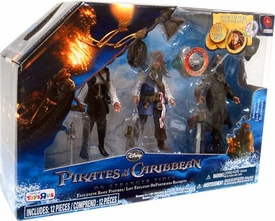 Pirates of the Caribbean On Stranger Tides 3-Pack Angelica, Jack Sparrow & Blackbeard