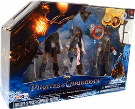 Pirates of the Caribbean On Stranger Tides Exclusive Action Figure Gibbs, Jack Sparrow & Captain Barbossa