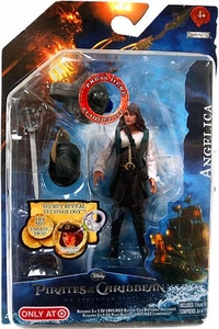 Pirates of the Caribbean On Stranger Tides Exclusive 4 Inch Series 1 Action Figure Angelica [Red Reveal]