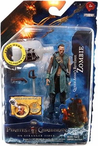 Pirates of the Caribbean On Stranger Tides 4 Inch Series 2 Action Figure Zombie