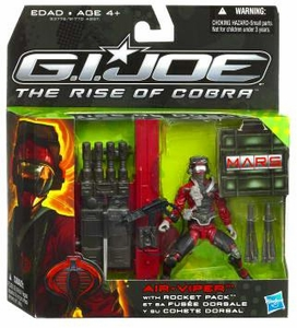 GI Joe Movie The Rise of Cobra Exclusive M.A.R.S. Troopers Action Figure Air-Viper with Rocket Pack