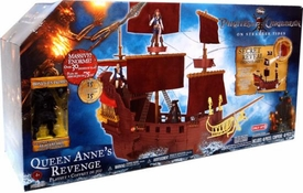 Pirates of the Caribbean On Stranger Tides Hero Ship Exclusive Playset Queen Anne's Revenge With Blackbeard Figure
