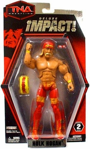 TNA Wrestling Deluxe Impact Series 2 Action Figure Hulk Hogan