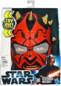 Star Wars 2012 Force Tech Electronic Helmet Darth Maul