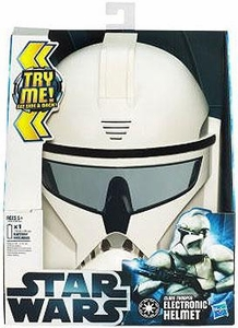Star Wars 2012 Force Tech Electronic Helmet Clone Trooper