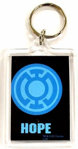 DC Direct Green Lantern Blackest Night Keychain Blue Hope