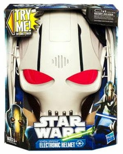 Star Wars 2012 Electronic Helmet General Grievous