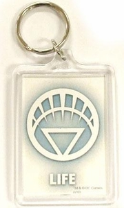 DC Direct Green Lantern Blackest Night Keychain White Life