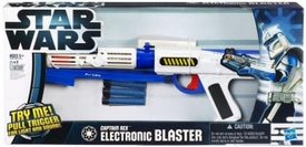 Star Wars 2012 / 2013 Electronic Blaster Captain Rex
