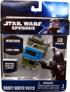 Star Wars Spyware Electronic Roleplay Toy Bounty Hunter Watch