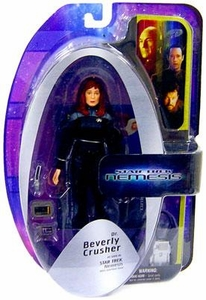 Diamond Select Toys Star Trek The Next Generation Series 5 Action Figure Dr. Beverly Crusher [Nemesis]