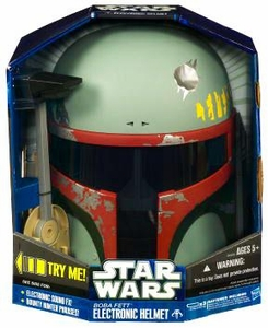 Star Wars 2010 Role Play Toy Boba Fett Electronic Helmet