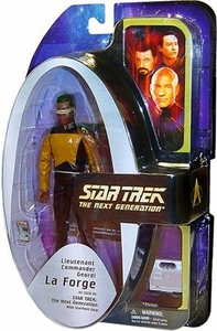Diamond Select Toys Star Trek The Next Generation Series 3 Action Figure Lt. Geordi LaForge Damaged Package, Mint Contents!