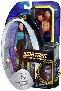 Diamond Select Toys Star Trek The Next Generation Series 2 Action Figure Counselor Deanna Troi in Uniform (Season 7)