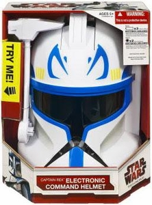 Star Wars Clone Wars Electronic Command Helmet Captain Rex