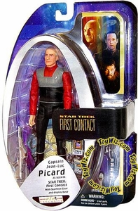 Diamond Select Toys Star Trek The Next Generation Exclusive Action Figure Captain Jean-Luc Picard from First Contact
