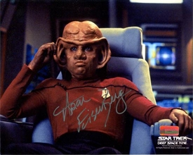 Star Trek 40 Years 8x10 Photo Ferengi Nog Signed Autographed Aron Eisenberg