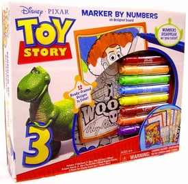 Disney / Pixar Toy Story 3 Designer Board Set Marker By Numbers