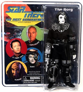 Diamond Select Star Trek The Next Generation Cloth Retro Action Figure Borg