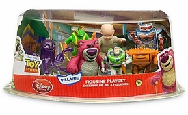 Toy Story 3 Exclusive PVC Villains 7-Pack Figurine Playset [Buzz Lightyear, Lots-O'-Huggin' Bear, Big Baby, Twitch, Chunk, Stretch and Sparks]