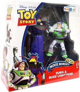 Disney / Pixar Toy Story 3 Exclusive Movie Moments 6 Inch Action Figure 2-Pack Zurg & Buzz Lightyear