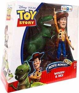 Disney / Pixar Toy Story 3 Exclusive Movie Moments 6 Inch Action Figure 2-Pack Woody & Rex