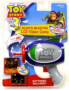 Disney / Pixar Toy Story 3 LCD Video Game Buzzs Blaster BLOWOUT SALE!