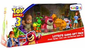 Disney / Pixar Toy Story 3 Exclusive Mini Figure Buddy 7-Pack Lotso's Gang Gift Pack [Stretch, Big Baby, Twitch, Lotso, Chunk, Sparks & Ken]