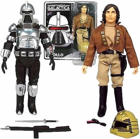 Bif Bang Pow! Battlestar Galactica Set of 2 Action Figures Cylon Centurion & Capt. Apollo