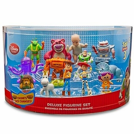 Disney / Pixar Toy Story 3 Movie Exclusive Deluxe 14 Piece Mini PVC Figure Collector Set #5 [Buzz, Woody, Jessie, Twitch, Trixie, Lotso, Big Baby, Sparks, Stretch, Chunk, Mr. Pricklepants, Peas in a Pod, Buttercup & Dolly]