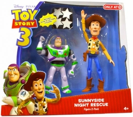 Disney / Pixar Toy Story 3 Exclusive Action Figure 2-Pack Sunnyside Night Rescue [Woody & Buzz Lightyear]