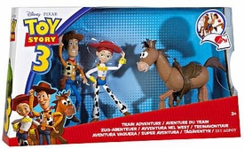 Disney / Pixar Toy Story 3 Exclusive 6 Inch Action Figure 3-Pack Train Adventure [Woody, Jessie & Bullseye]