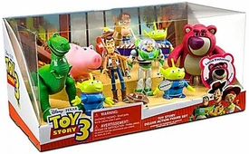 Disney Toy Story 3 Exclusive 10 Piece Deluxe Action Figure Set [Buzz, Bullseye, Hamm, Jessie, Lotso, Rex, Woody & 3 Aliens]