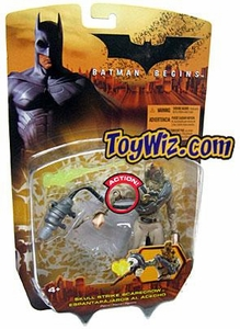 Batman Begins Movie Action Figure Skull Strike Scarecrow