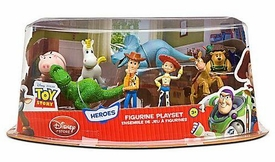 Toy Story 3 Exclusive PVC Heroes 8-Pack Figurine Playset [Woody, Jessie, Bullseye, Rex, Hamm, Mr. Pricklepants, Buttercup and Trixie]