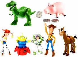 Disney / Pixar Toy Story 3 Exclusive 6 Inch Action Figure 7-Pack Andys Toys Gift Pack [Rex, Hamm, Buzz Lightyear, Alien, Jessie, Bullseye & Sheriff Woody]