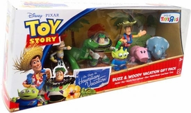 Disney / Pixar Toy Story Exclusive Hawaiian Vacation Mini Figure 7-Pack Buzz & Woody Vacation Gift Pack