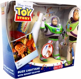 Disney / Pixar Toy Story Exclusive Action Figure Playset Buzz Lightyear with Rocket Blaster