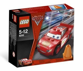 LEGO Disney Cars Set #8200 Radiator Springs Lightning McQueen