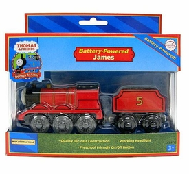 Thomas the Train & Friends Wooden Railway Battery-Powered James