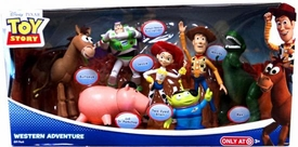 Disney / Pixar Toy Story Exclusive Action Figure 7-Pack Western Adventure