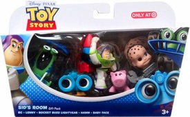 Disney / Pixar Toy Story Exclusive Mini Figure Gift Pack Sid's Room [RC, Lenny, Rocket Buzz Lightyear, Hamm & Baby Face]