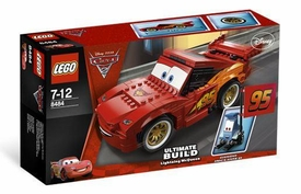 LEGO Disney Cars Set #8484 Ultimate Build Lightning McQueen