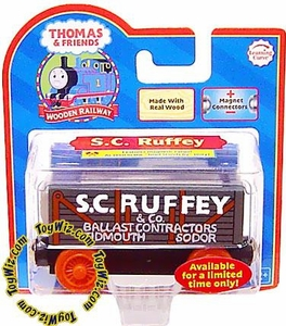 Thomas the Tank Train & Friends Wooden Railway Figure S.C. Ruffey