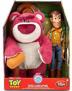 Toy Story 3 Exclusive 14 Inch Talking Plush Boxed Set Woody & Lotso