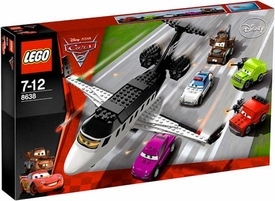 LEGO Disney Cars 2 Set #8638 Spy Jet Escape