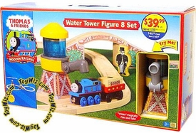 Thomas the Tank Train & Friends Wooden Railway Figure Water Tower Figure 8 Set