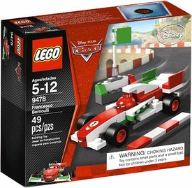 LEGO Disney Cars Set #9478 Francesco Bernoulli